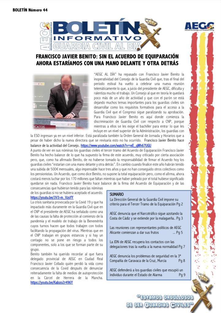 Revista seguridad Pública Guardia Civil