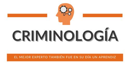 Especialización Criminología