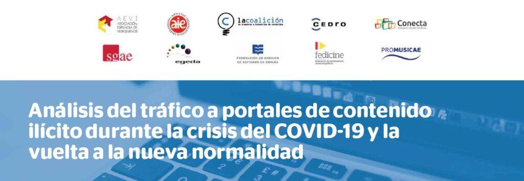piratería digital portales durante el COVID19