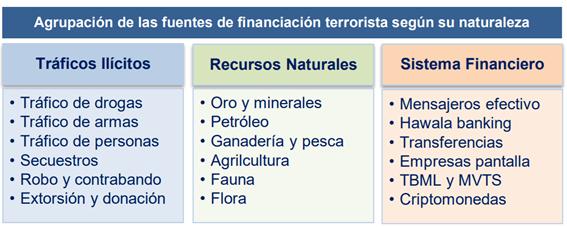 Terrorismo financiado