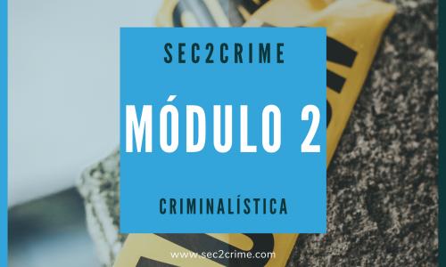 Curso online criminalística