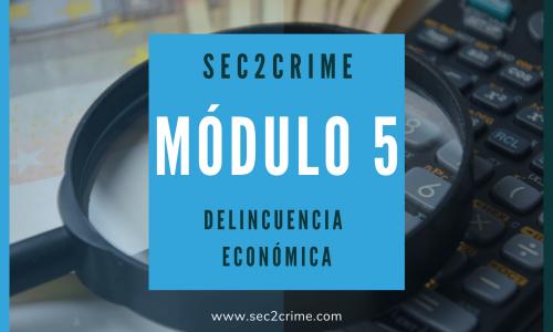 Curso online delincuencia económica
